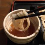 熊本・上代「麦屋」甘辛い味噌のカツ、コシのあるうどん