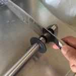 ZWILLING(ツヴィリング)の包丁の切れ味を取り戻すためシャープナーで研ぐ方法。