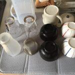 洗った食器の置き場に困ったら「水切りディッシュマット」が便利。