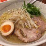 熊本で塩ラーメン「麺ヤ 徳」でさっぱりラーメンと明太子丼を食べる。