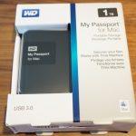 Time Machineに使う外付けHDDおすすめはこれ。WD「My Passport for Mac」