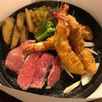 「レッフェル」でステーキ・ハンバーグ・エビフライを食べるべし。/熊本/流通団地/