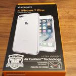 「iPhone7plus」最適ケースはこれだ!「Spigen」のTPU・ポリカーボネート共存ケースが良い。