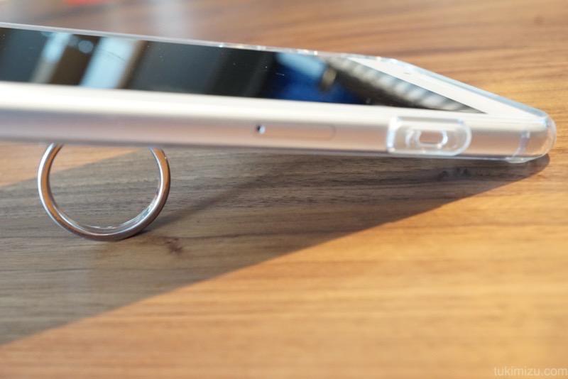 iPhoneの横