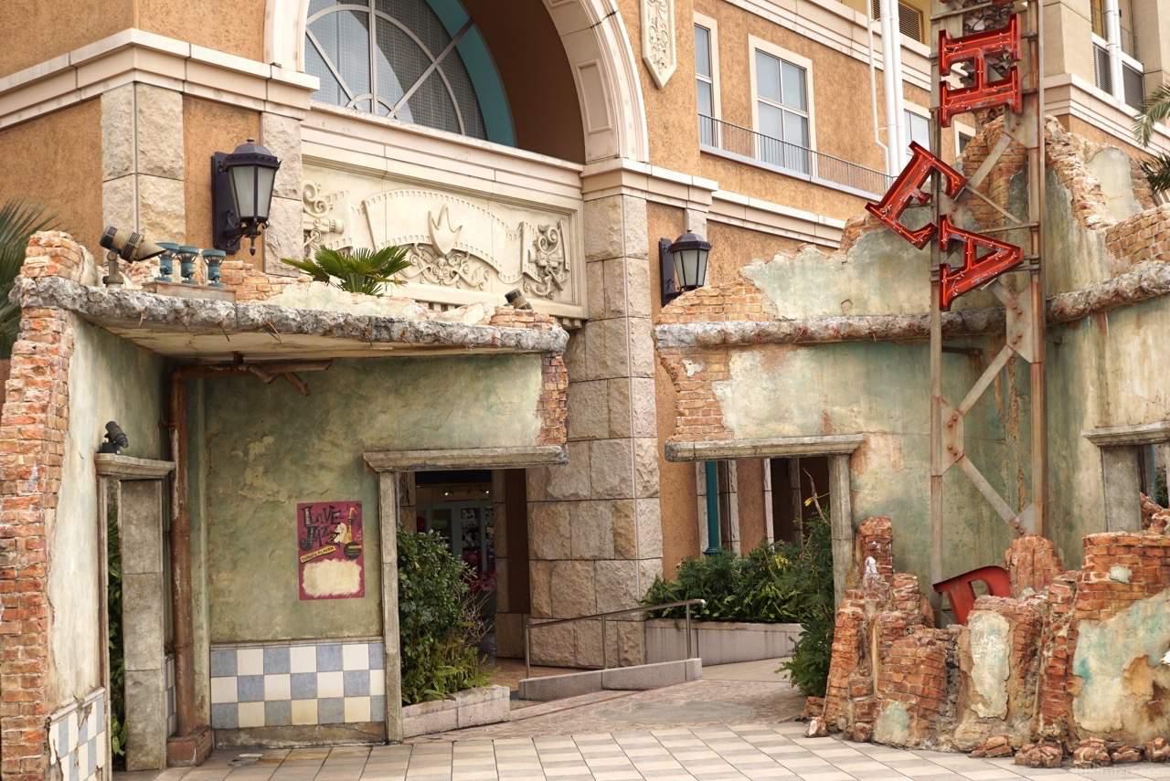 ホテル周りのデザイン
