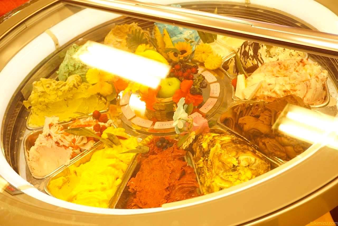 アイスの冷蔵庫