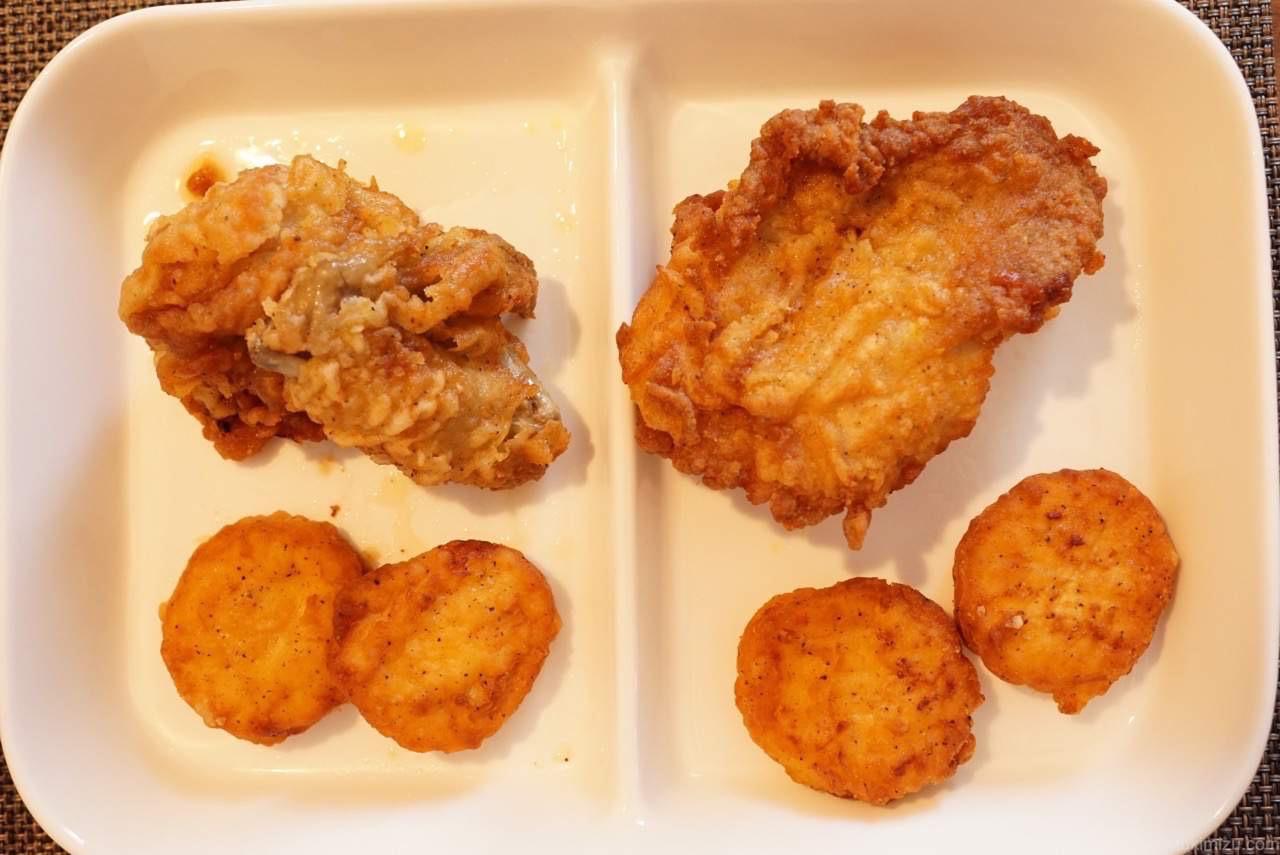 チキンとナゲット