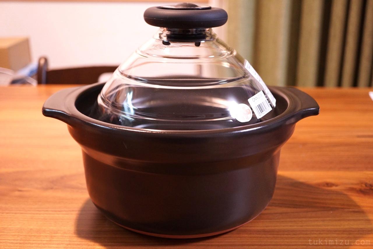 ハリオ土鍋横