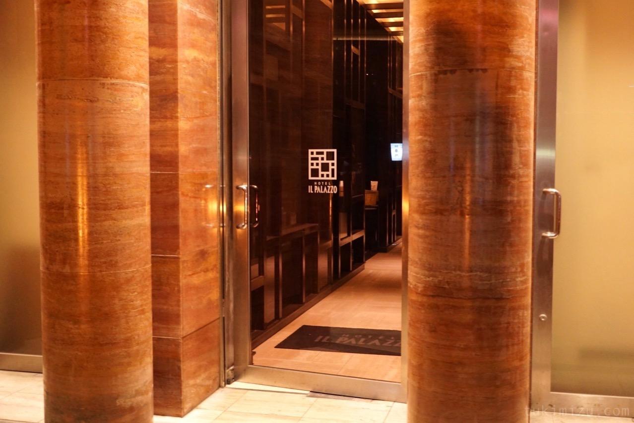 ホテル イル・パラッツォのドア