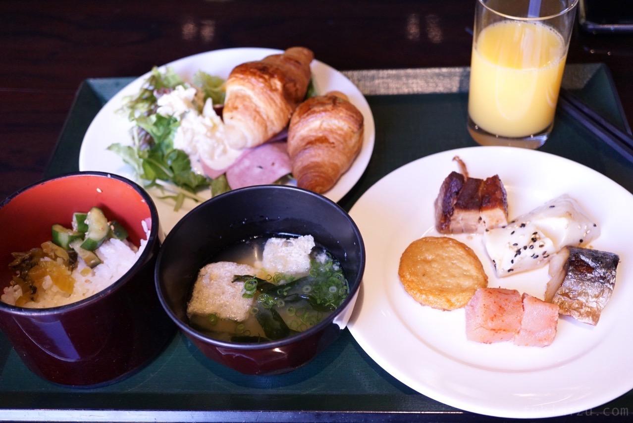 ホテル イル・パラッツォの朝食