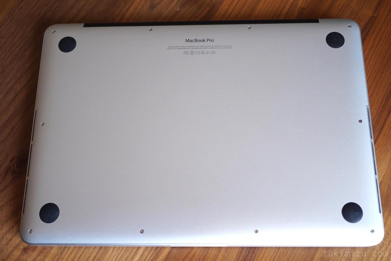 MacBook裏面
