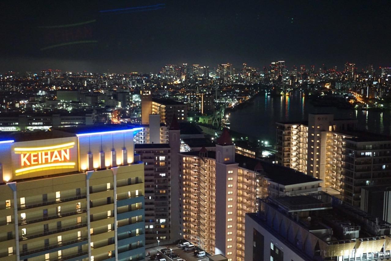 シティビューからの夜景