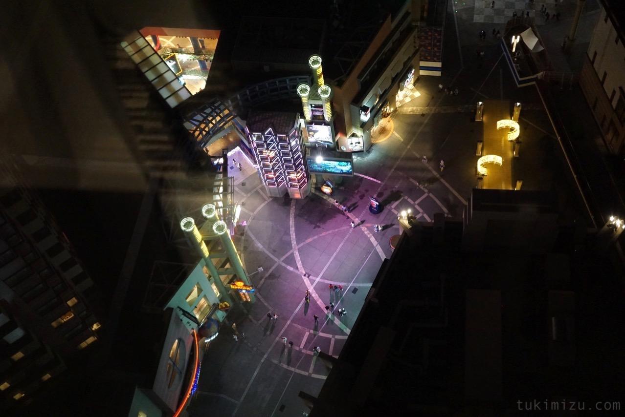 ユニヴァーサルシティウォークの眺め
