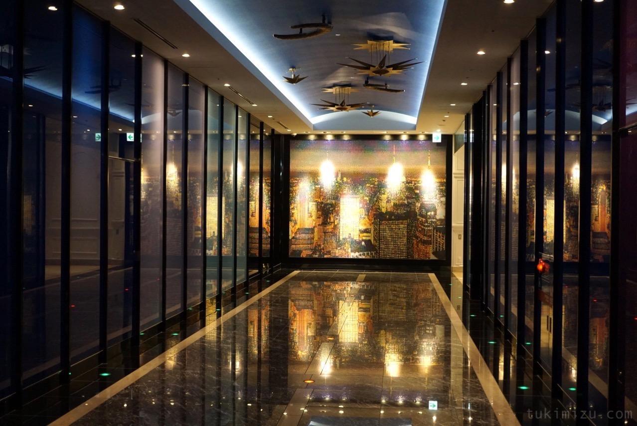 パークフロントホテルの廊下