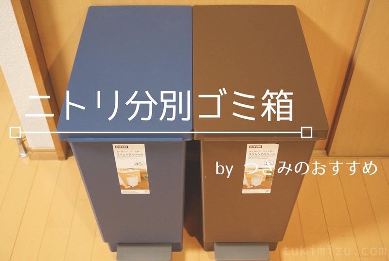 ニトリ分別ゴミ箱のアイキャッチ