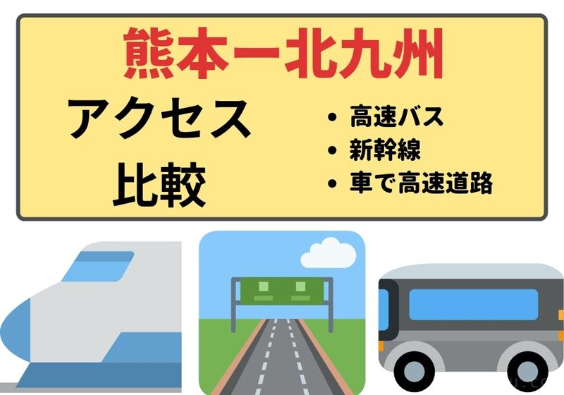 熊本から北九州までの交通手段アイキャッチ