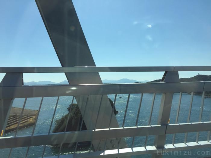 橋から見える海