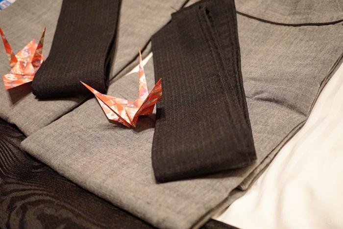 浴衣と折り紙