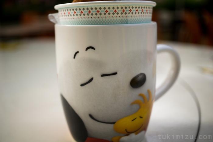 スヌーピーのカップ
