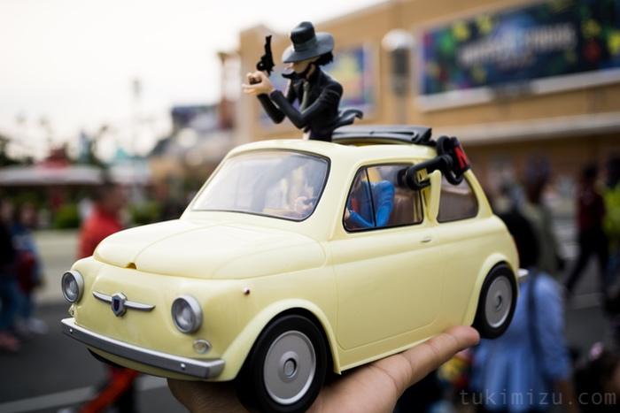 ルパンと次元と車
