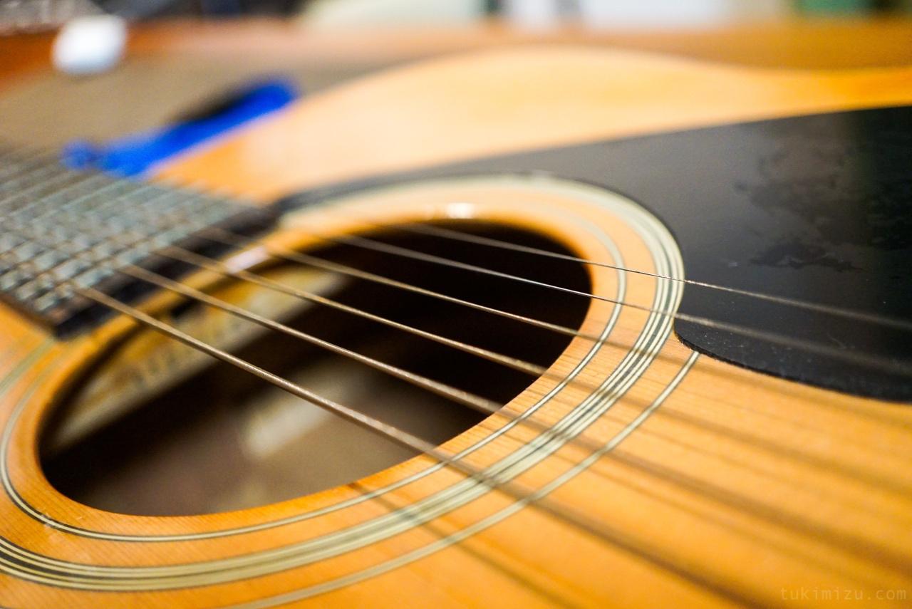 ギターのホール