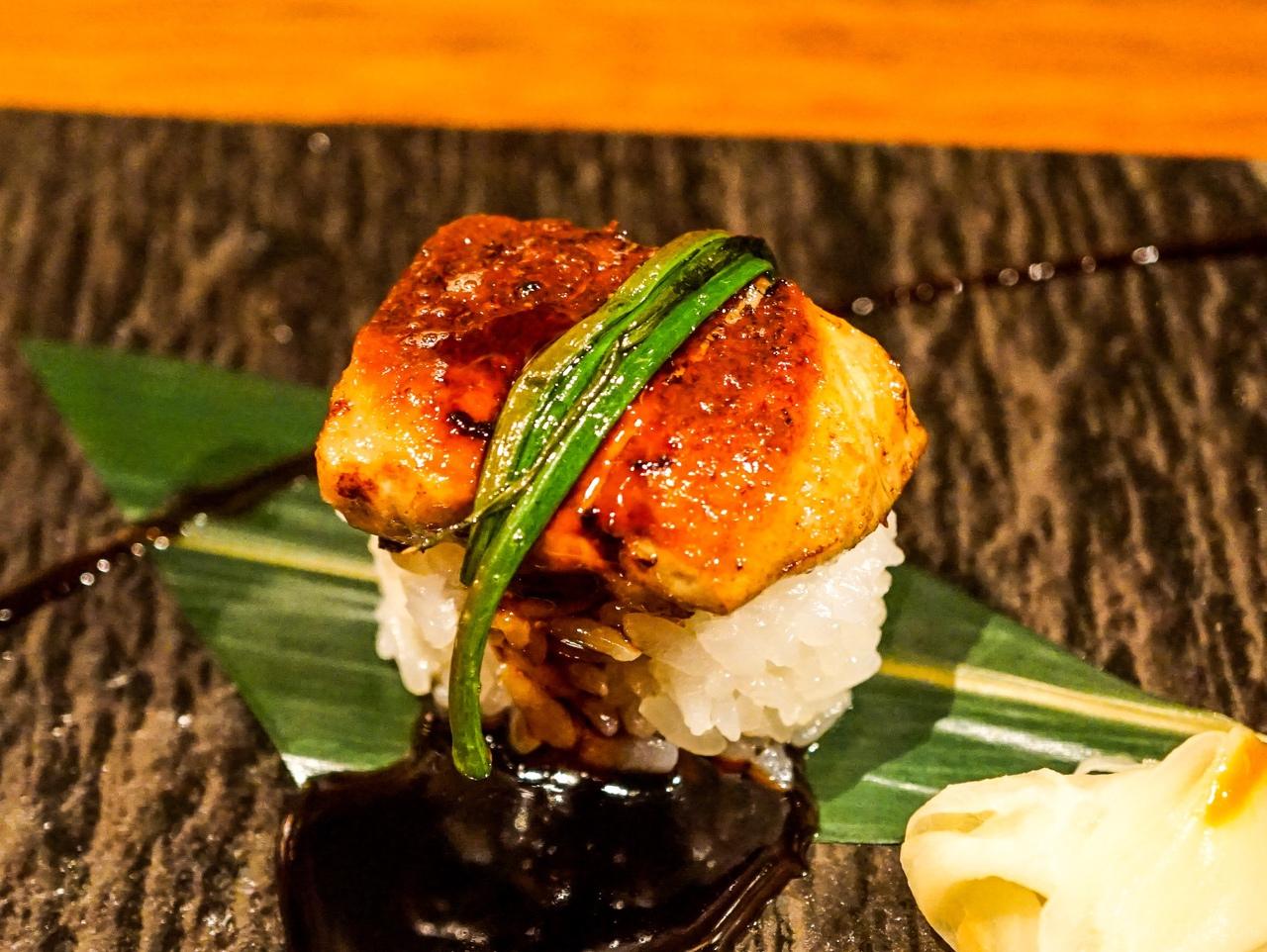 フォアグラのお寿司!