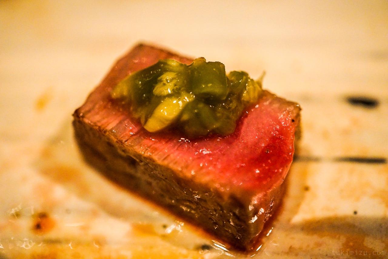 肉とわさび