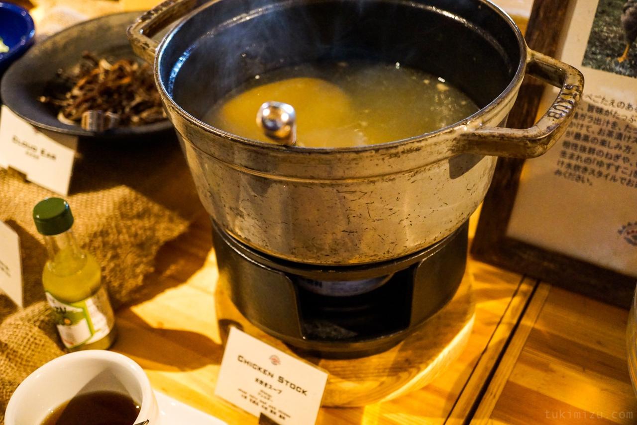 鶏出汁スープ