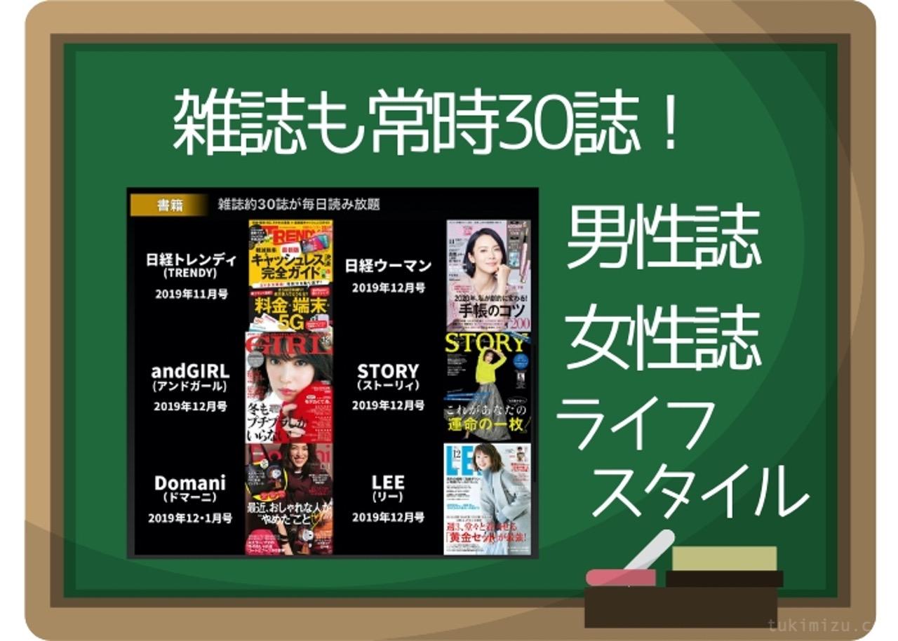 雑誌見放題